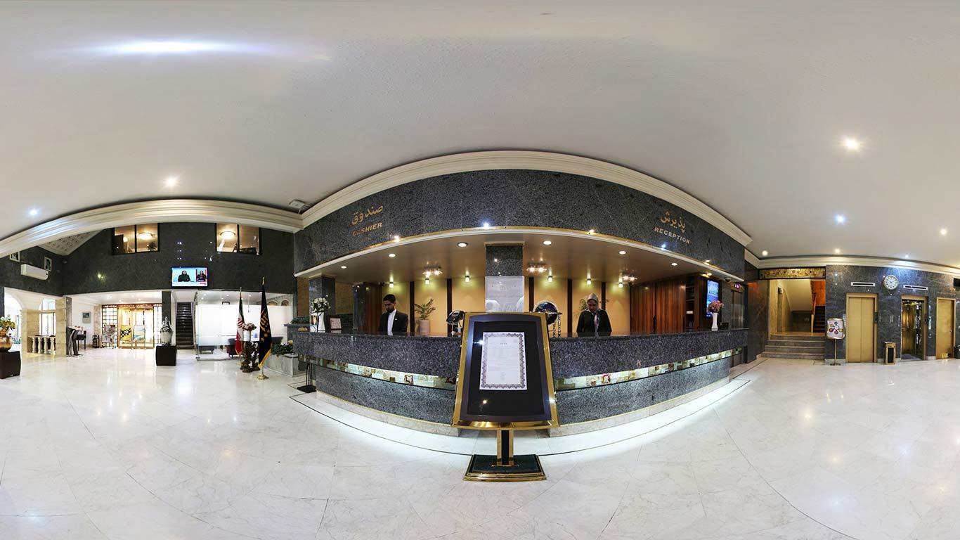 سامانه تور مجازی هتل تارا