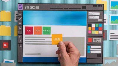 طراحی UI وبسایت