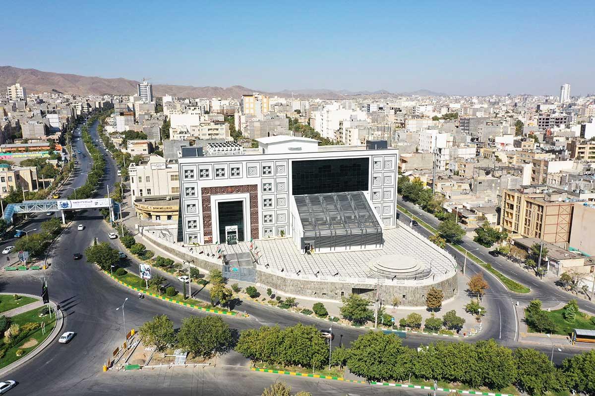 تور مجازی کتابخانه امام خمینی مشهد